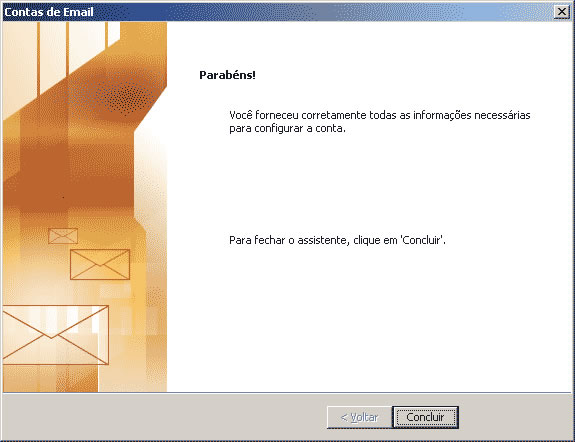 configuracao outlook 2003